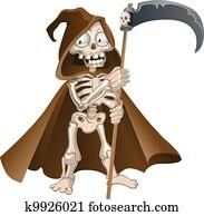 Funny Halloween death