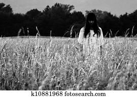 ghost in field