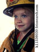 Girl as Firefighter