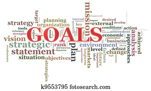 Goal wordcloud