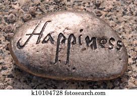 Happiness rock