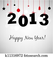 Happy New Years Card