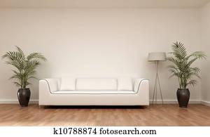 interior scene sofa