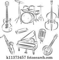 Jazz band set