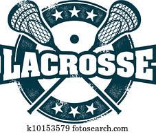 Lacrosse Sport Stamp
