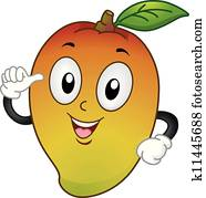 Mango Mascot