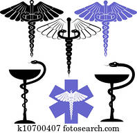 medical and pharmacy symbol