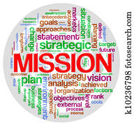 Mission word tag