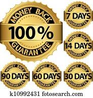 Money back guarantee golden set, ve