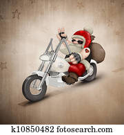 Motorized Santa Claus