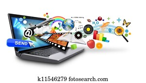 Multi Media Internet Laptop with Ob