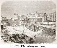 Naples railway station