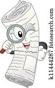 Newspaper Mascot