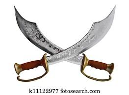 Pirate swords