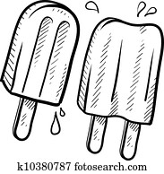Popsicle sketch