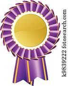 Purple Rosette