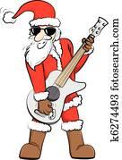 rock-santa