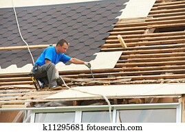 roofing work with flex roof