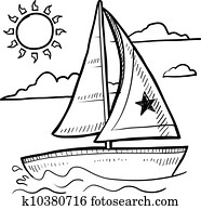 Sailboat sketch