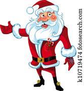 Santa Claus presentation