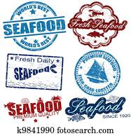 Seafood stamps