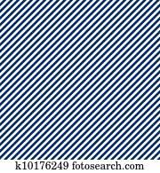 Seamless Blue & White Stripe