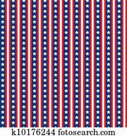 Seamless Stars & Stripes