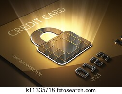 Secure credit card transactions