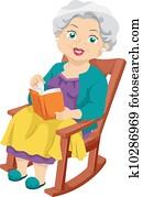 Senior Rocking Chair
