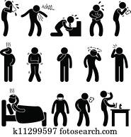 Sickness Illness Disease Symptom