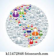 Social World Population