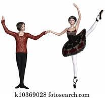 Spanish Ballet Pas de Deux
