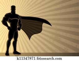 superhero, hintergrund