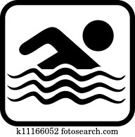 Swimming allowed