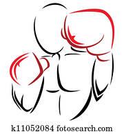 symbol, boxer