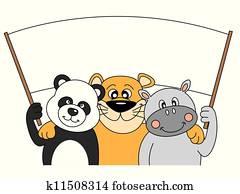 Clipart Besten Freunde K7559731 Suche Clip Art Illustration
