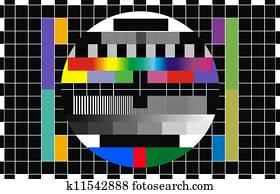 tv screen test
