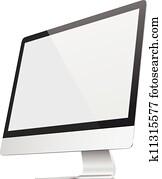 Ultra flat screen