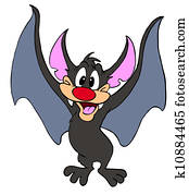 Vampire Bat Halloween Creature