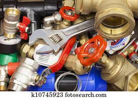 Various plumbing accessories