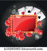 Vector Casino Background