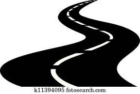 road clipart royalty free 155 242 road clip art vector eps