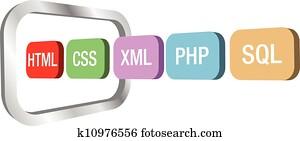 web, dev, html, css, php, in, edv, rahmen