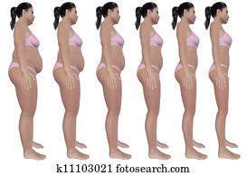 Weight Loss Progress Side View