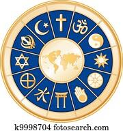 welt, map,, welt religionen