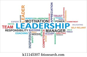 word cloud - leadership