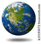 Rysunek światowa Kula Ziemia Planeta K10179423 Szukaj Kliparty