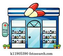 a drug store