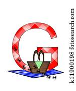 Alphabet Picnic Lunch G
