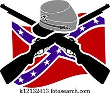American Civil War. Confederacy